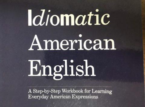 Idiomatic American Englishをレビュー【アメリカ口語表現が学べる洋書教材】