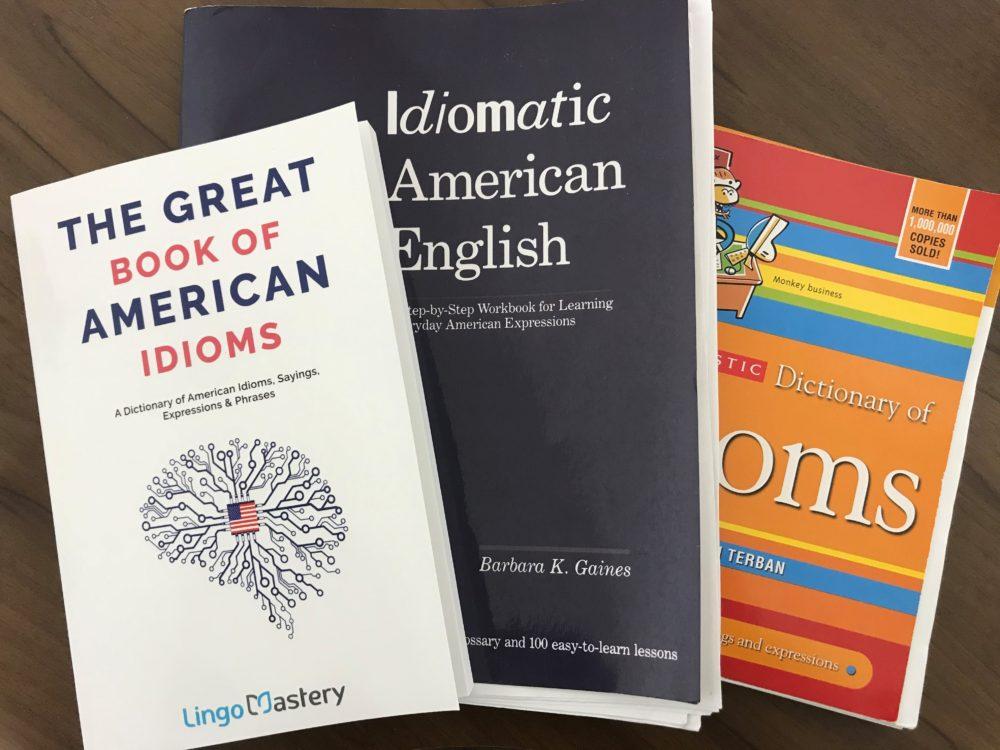 英語イディオム・口語表現が学べるおすすめ本【リアル英会話のための洋書3冊】