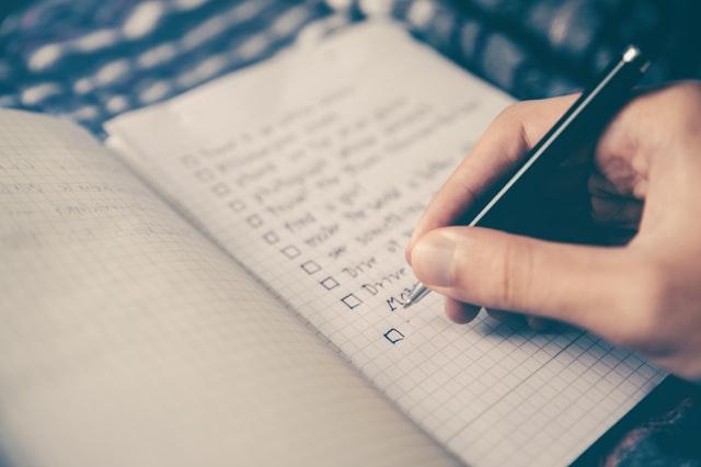 緊張をほぐすステップ②:テキストの予習をする